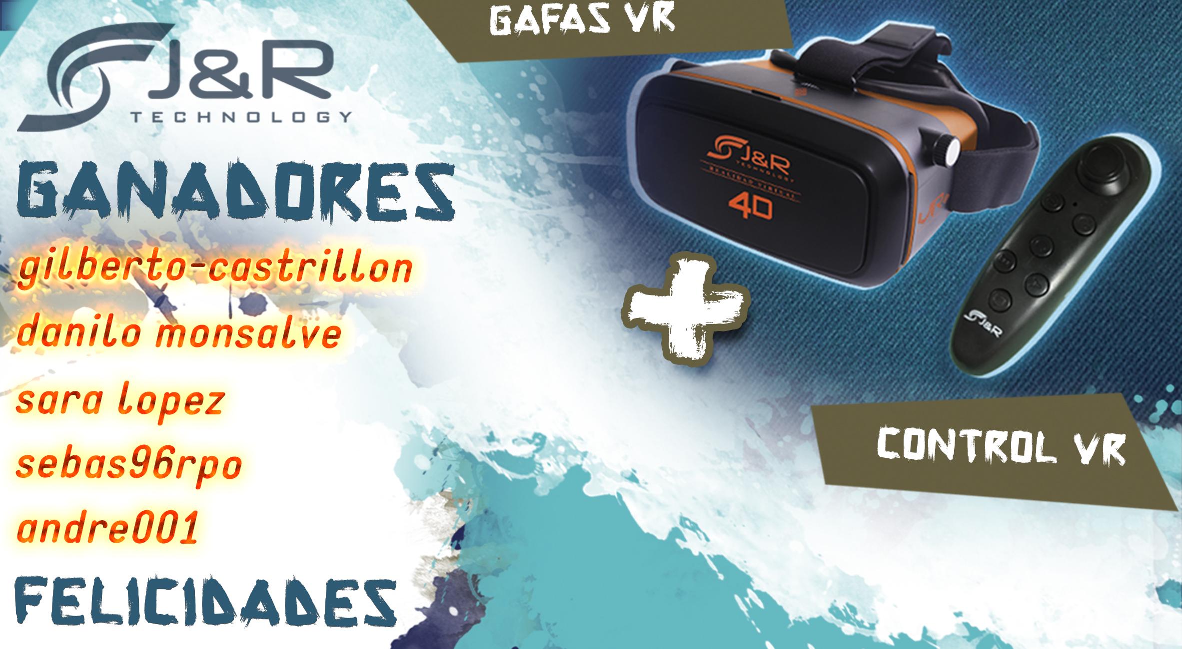 Ganadores VR