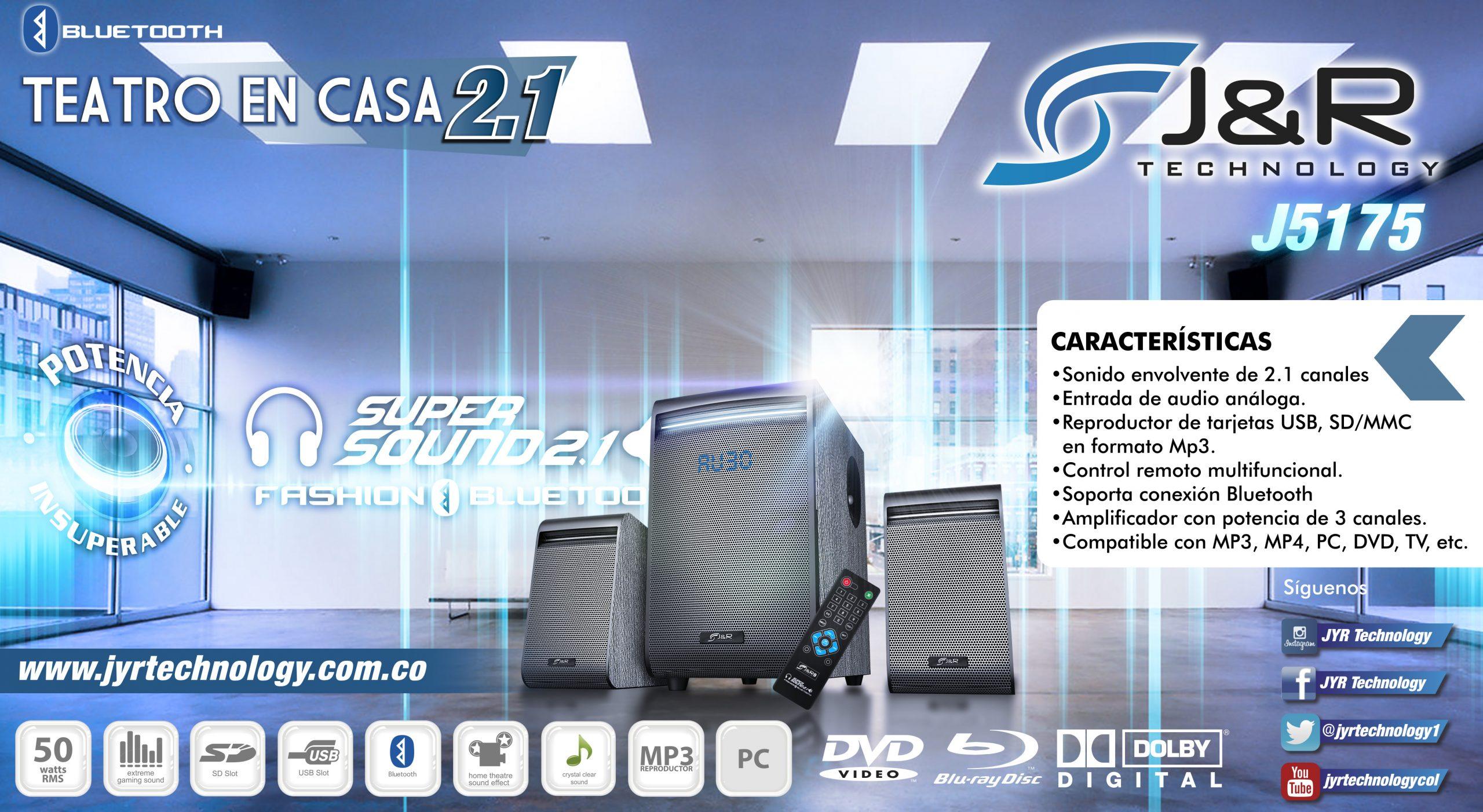 Brochure 5175 Teatro 2.1 Nuevos Teatros 2.1 J&R Technology