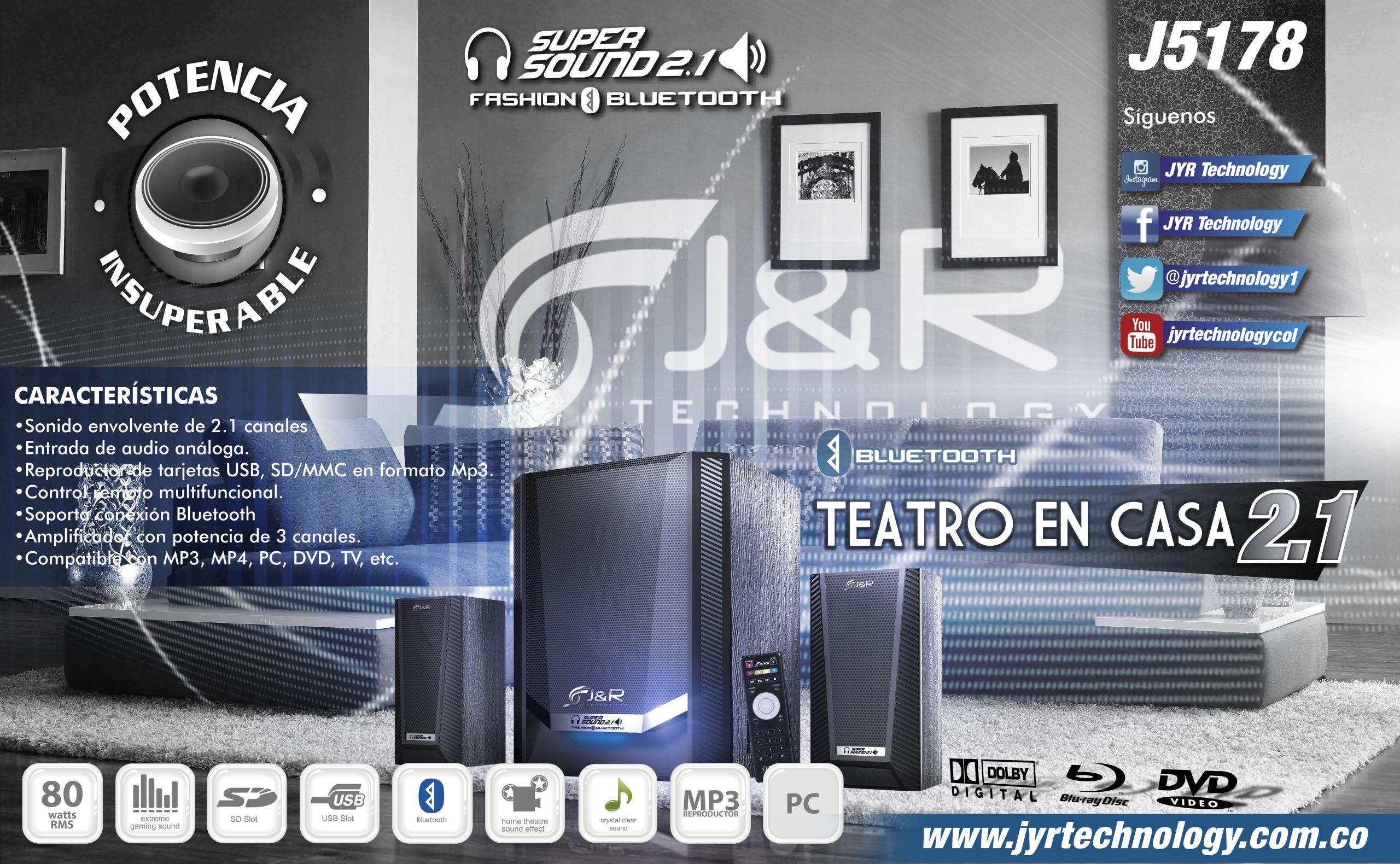 Brochure 5178 Teatro 2.1 Nuevos Teatros 2.1 J&R Technology