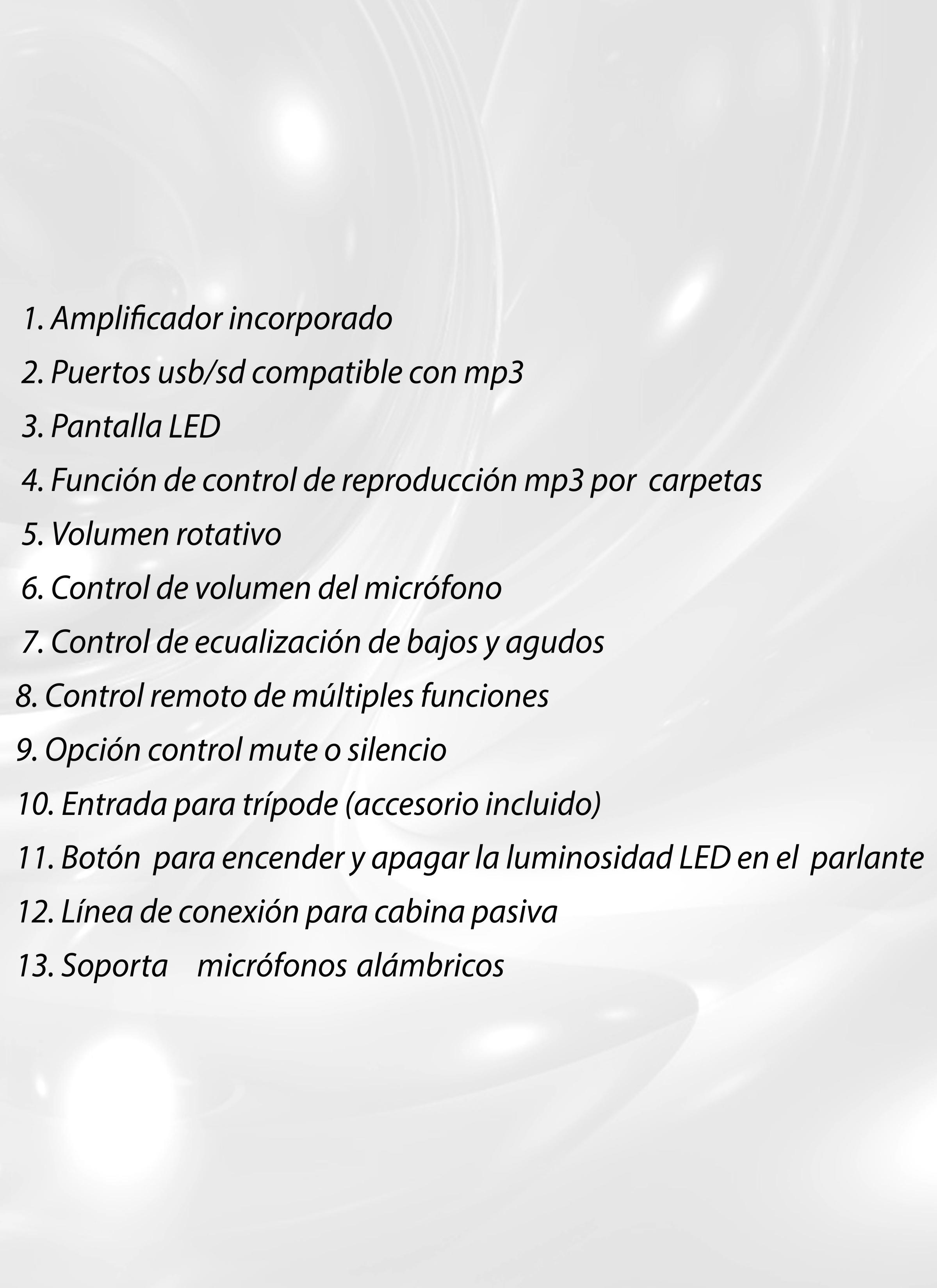 Especificaciones J5169 J&R
